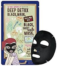 Kup Detoksykująca maska do twarzy - Dewytree Deep Detox Black Sheet Mask