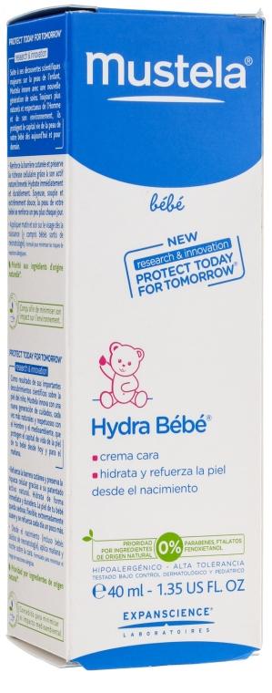 Nawilżająco-wzmacniający krem do twarzy - Mustela Hydra Bébé Facial Cream