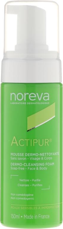 Pianka do mycia twarzy - Noreva Laboratoires Actipur Dermo-Cleansing Foam — фото N1