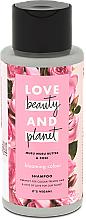 Kup Szampon do włosów farbowanych z masłem muru muru i olejem różanym - Love Beauty&Planet Muru Muru Butter & Rose