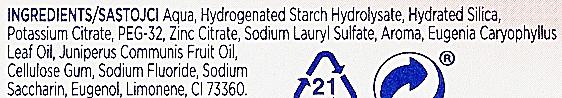 Pasta do zębów - Signal Long Active Nature Elements Clove Sensitive — фото N4