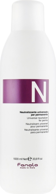 Uniwersalny neutralizator do loków - Fanola Universal Neutralizer For Perms — фото N1