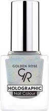 Lakier do paznokci - Golden Rose Holographic Nail Colour — фото N1