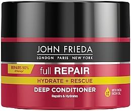 Kup Intensywnie regenerująca maska do włosów - John Frieda Full Repair Hydrate + Rescue Deep Conditioner