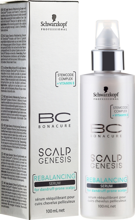 Balansujące serum do włosów - Schwarzkopf Professional BC Scalp Genesis Rebalancing Serum — фото N1