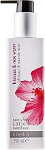 Kup Lotion do rąk i ciała Hibiskus i woda różana - Kinetics Hibiscus & Rose Water Lotion
