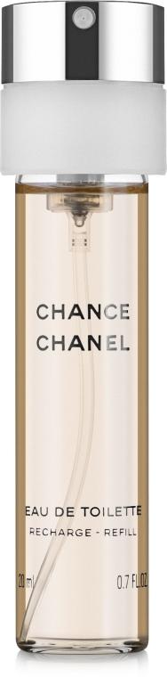 Chanel Chance - Woda toaletowa (trzy wymienne wkłady) — фото N3