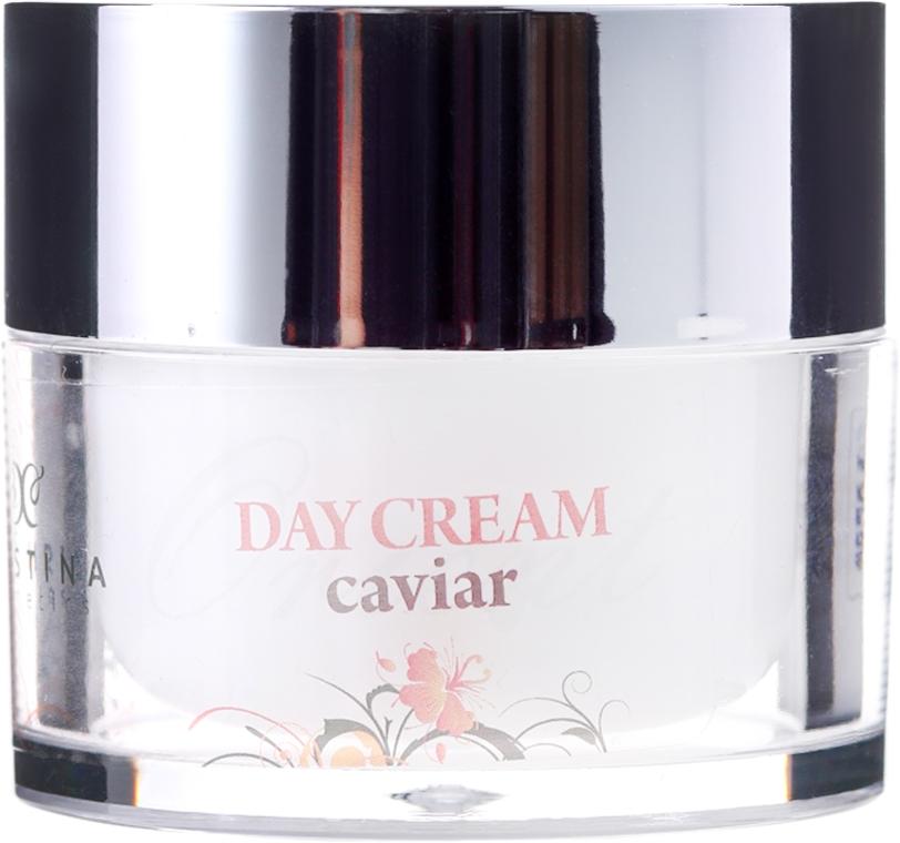 Wzmacniający krem do twarzy z kawiorem na dzień - Hristina Cosmetics Orient Caviar Face Day Cream — фото N2