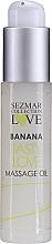 Kup Bananowy olejek do masażu - Sezmar Collection Love Banana Tasty Love Massage Oil (miniprodukt)