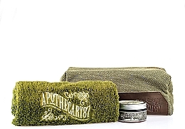 Kup Zestaw - Apothecary 87 Shave Kit (sh/cream/50ml + towel + bag)