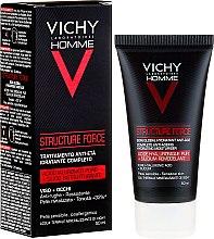 Kup Fluid pielęgnacyjny dla mężczyzn do twarzy i pod oczy - Vichy Homme Structure Force Complete Anti-Ageing Hydrating Moisturiser