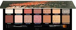 Kup Paletka cieni do powiek - Sigma Beauty Warm Neutrals Eyeshadow Palette