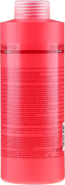 Szampon chroniący kolor farbowanych włosów grubych - Wella Professionals Invigo Color Brilliance Coarse Shampoo  — фото N6