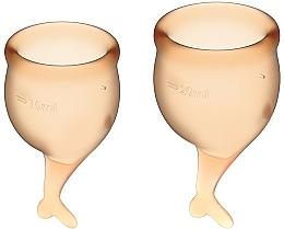 Kup Zestaw kubeczków menstruacyjnych - Satisfyer Feel Secure Menstrual Cups