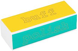 Kup 4-stopniowa polerka do paznokci - Tools For Beauty 4-way Nail Buffer Block Normal