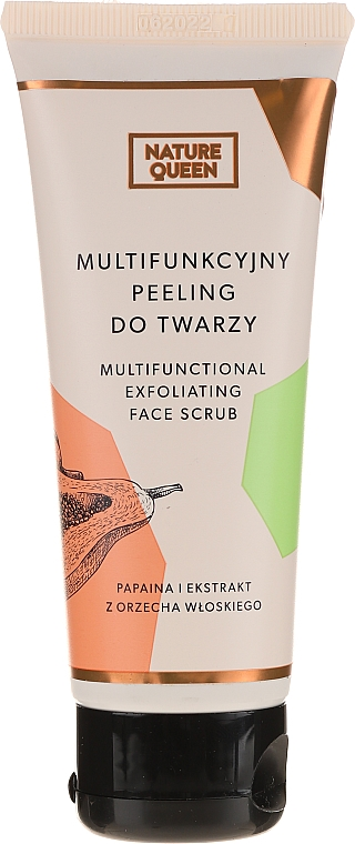 Multifunkcyjny peeling do twarzy - Nature Queen Multifunctional Face Peeling — фото N1