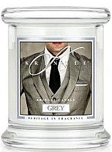 Kup Świeca zapachowa w słoiku - Kringle Candle Grey