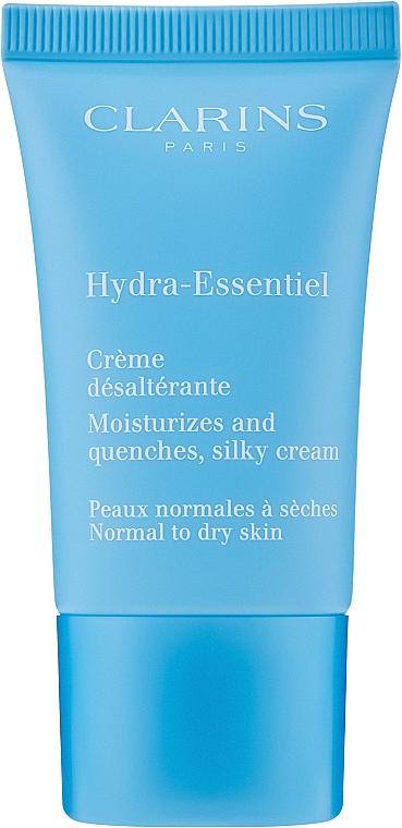 Krem nawilżający do skóry normalnej i w kierunku do suchej - Clarins Hydra-Essentiel Normal to Dry Skin Cream