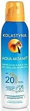 Kup Nawilżający balsam do opalania w sprayu SPF 20 - Kolastyna Aqua Aksamit SPF 20