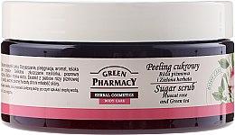 Kup Peeling cukrowy Róża piżmowa i zielona herbata - Green Pharmacy