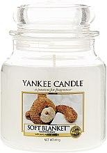 Kup Świeca zapachowa w słoiku - Yankee Candle Soft Blanket
