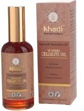Kup Olejek antycellulitowy 10 ziół - Khadi Ayurvedic Restorative Oil