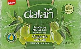 Kup Glicerynowe mydło Oliwka - Dalan Savon De Marseille Glycerin Soap Organic Olive Oil