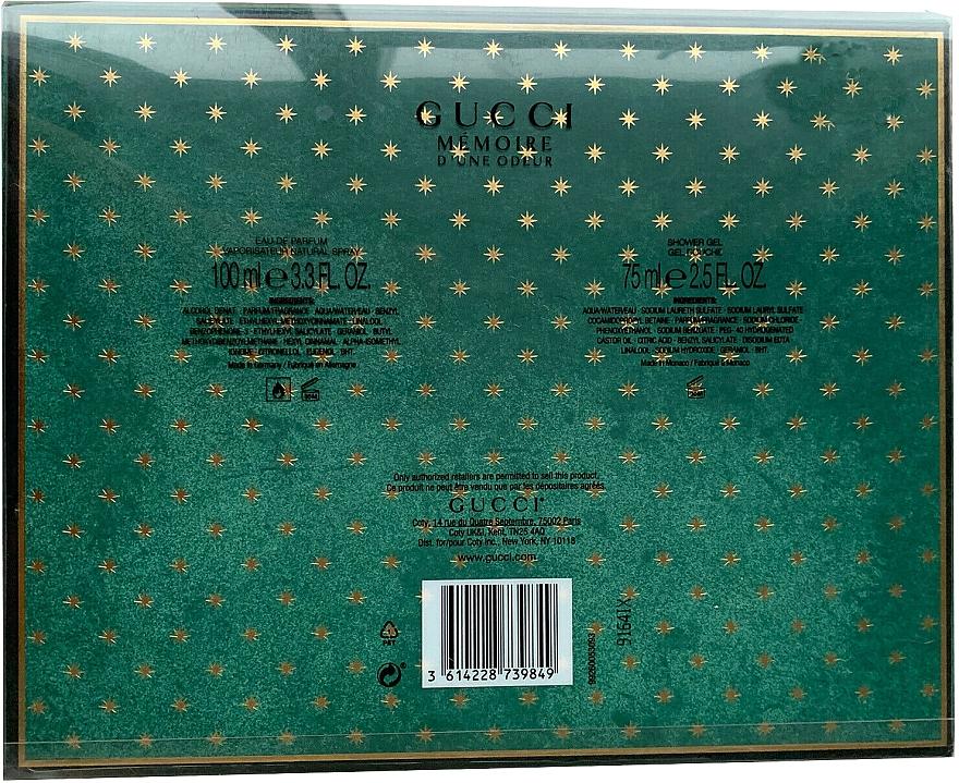 Gucci Memoire D'une Odeur - Zestaw (edp 100 ml + sh/gel 75 ml) — фото N2