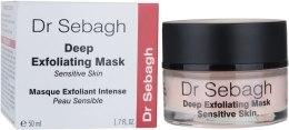 Kup Maska głęboko złuszczająca do skóry wrażliwej - Dr Sebagh Deep Exfoliating Mask