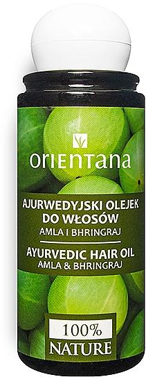 Ajurwedyjski olejek do włosów Amla i bhringraj - Orientana