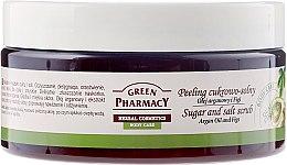 Kup Peeling cukrowo-solny Olej arganowy i figi - Green Pharmacy
