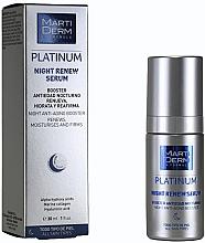 Kup Rewitalizujące serum do twarzy na noc - MartiDerm Platinum Night Renew Serum