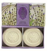 Kup Zestaw mydeł do kąpieli Lawenda - La Florentina Lavender Bath Soap Set
