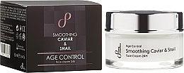 Kup Wygładzający krem przeciwstarzeniowy do twarzy Kawior i ślimak - Sayaz Cosmetics Age Control Smoothing Caviar & Snail Face Cream 24H