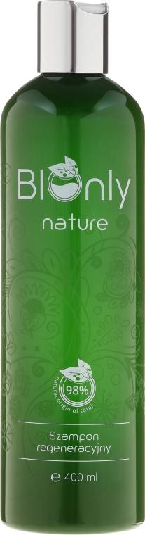 Regenerujący szampon do włosów zniszczonych i osłabionych - BIOnly Nature