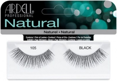 Sztuczne rzęsy - Ardell Natural Lashes Black 105
