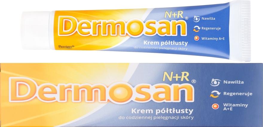 Krem półtłusty do całodziennej pielęgnacji skóry - Dermosan N + R — фото N1