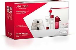 Kup Zestaw - Shiseido Bio-Performance Time Fighting Ritual (cr/50ml + conc/10ml + foam/15ml + softner/30ml + conc/3ml + bag)