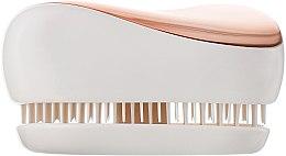 Kompaktowa szczotka do włosów - Tangle Teezer Compact Styler Rose Gold Cream — фото N4