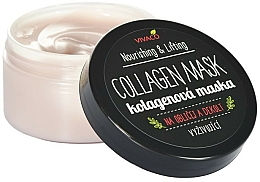 Kup Maska kolagenowa do twarzy i dekoltu - Vivaco Collagen Mask Nourishing & Lifting