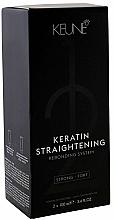 Kup Keratyna w kremie do włosów - Keune Keratin Straightening Rebonding System Strong