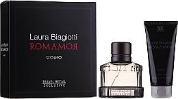 Kup Laura Biagiotti Romamor Uomo - Zestaw (edt/40ml + sh/gel/100ml)