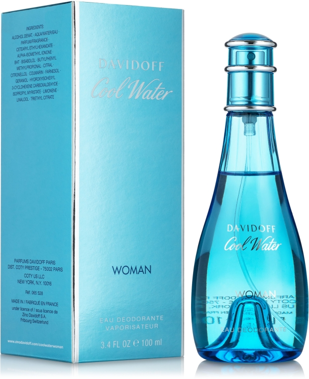 Davidoff Cool Water woman - Dezodorant