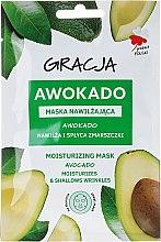Kup Maska nawilżająca na tkaninie do twarzy Awokado - Gracja