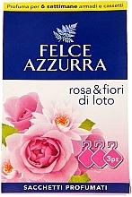 Kup Saszetka aromatyczna, róża i kwiat lotosu - Felce Azzurra Sachets Rose and Flowers Of Lotus