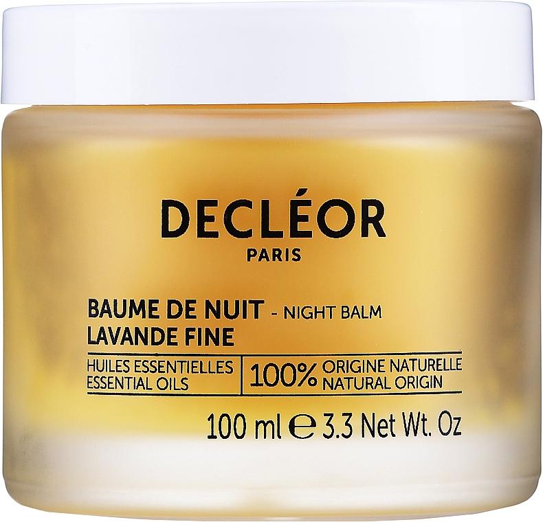 Przeciwstarzeniowy balsam na noc - Decléor Aromessence Iris Rejuvenating Night Balm