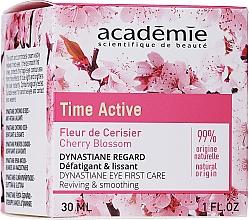 Kup Wygładzający krem kojący pod oczy - Academie Time Active Cherry Blossom Dynastiane Eye First Care