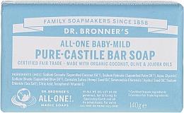 Kup Mydło w kostce dla dzieci - Dr. Bronner's Pure Castile Bar Soap Baby-Mild