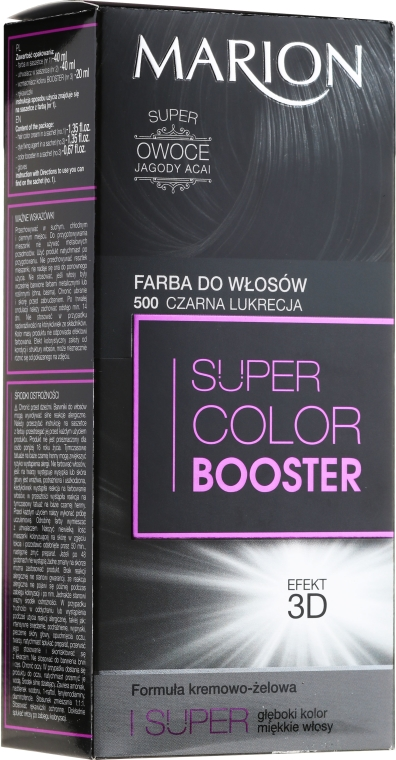 Farba do włosów - Marion Super Color Booster