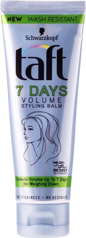 Balsam do układania włosów - Schwarzkopf Taft 7 Days Volume Styling Balm